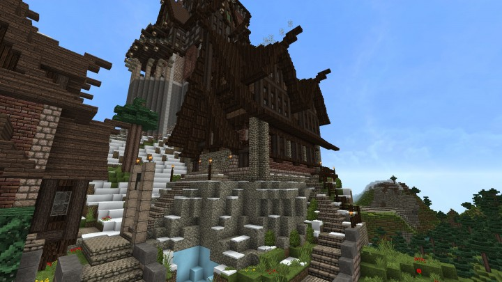 how to build own house skyrim