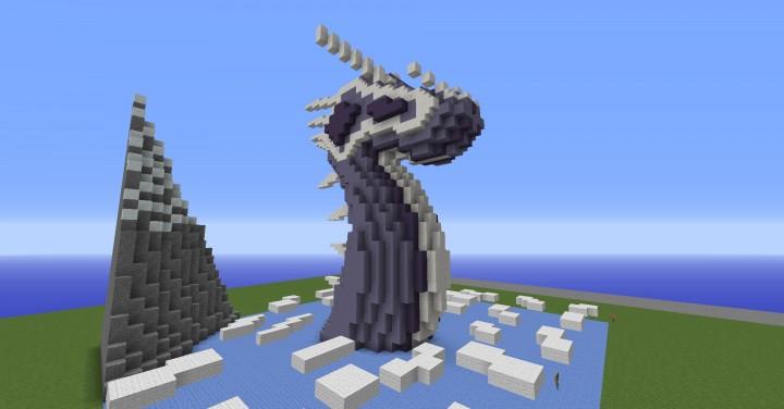 Dragon Head Minecraft Project
