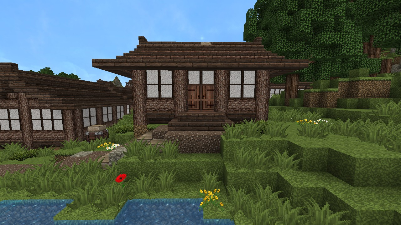 Japanese House Designs #3 Minecraft Project
