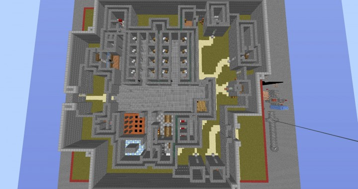 The escapists minecraft map minecraft project
