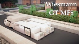 Wiesmann GT MF5 Minecraft Map & Project