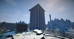 Hotel - Minecraft Vanilla 1.8+ with interiors - skyscraper - only one command Minecraft Project
