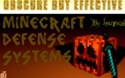 Obscure but Effective Minecraft Defense Systems Minecraft