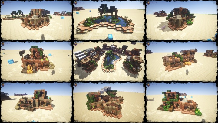 My Second Desert House Bundle DOWNLOAD Minecraft Project - Minecraft schone mittelalterliche hauser