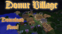 Donut Village Minecraft Map & Project