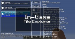 In-Game File Explorer Minecraft