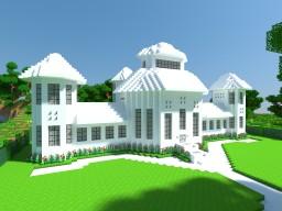 Quartz manor Minecraft Map & Project