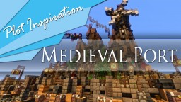 Medieval Port Town || Vadact Small Plot Minecraft Map & Project