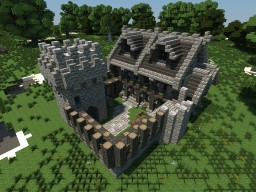 Medieval Headquarters Minecraft