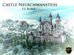 Castle Neuschwanstein in Minecraft | 1:1 Scale [CINEMATIC] Minecraft Project