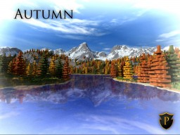 Autumn - [Realistic terrain] Minecraft Project