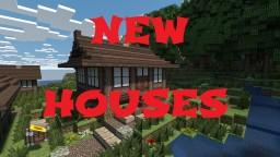 Japanese House Designs #3 Minecraft Map & Project