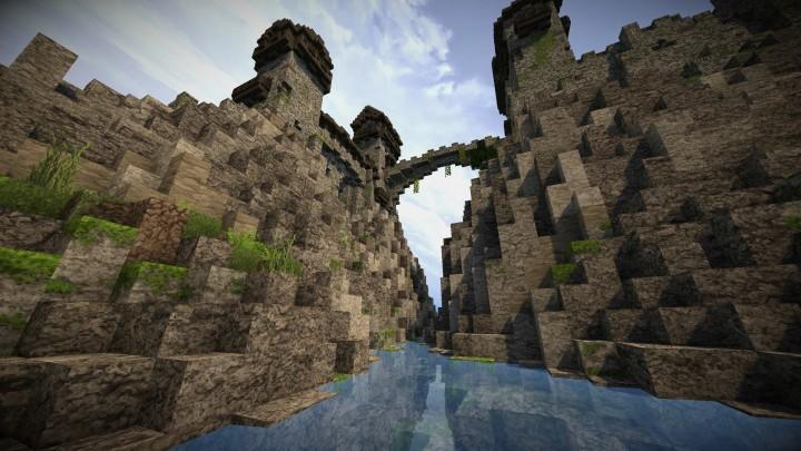 Stonegate Castle Cinematic Minecraft Project