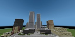 World Trade Center (Twin Towers) 1:2 Minecraft Minecraft Map & Project