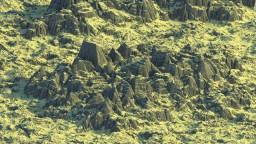 Terraced Spikes and Wastelands - Custom Biomes - 3k x 3k
