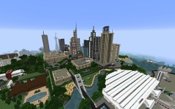 City of Purrehsburg Minecraft Map & Project
