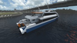 DAMEN FAST FERRY 4212 [1:1] Minecraft Map & Project