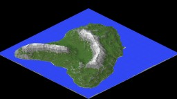 Island for ADV map creator Minecraft