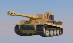 Tiger tank Minecraft Map & Project