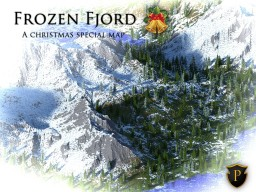 Frozen Fjord - A Christmas special terrain Minecraft Map & Project