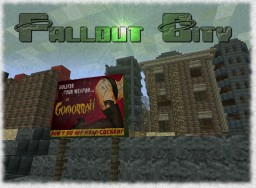 Fallout City Minecraft Project