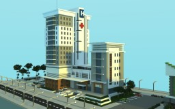 Modern Hospital Minecraft Project