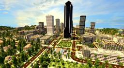 LOS ANGELCRAFT (Huge City inspired by Los Angeles) Minecraft Map & Project