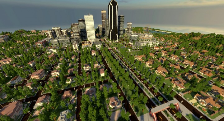 LOS ANGELCRAFT (Huge City inspired by Los Angeles ...