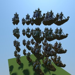 Vikingship Buildpack Minecraft Map & Project