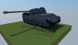 PzKpfw V Panther Minecraft Project