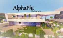 AlphaPhi Minecraft Map & Project