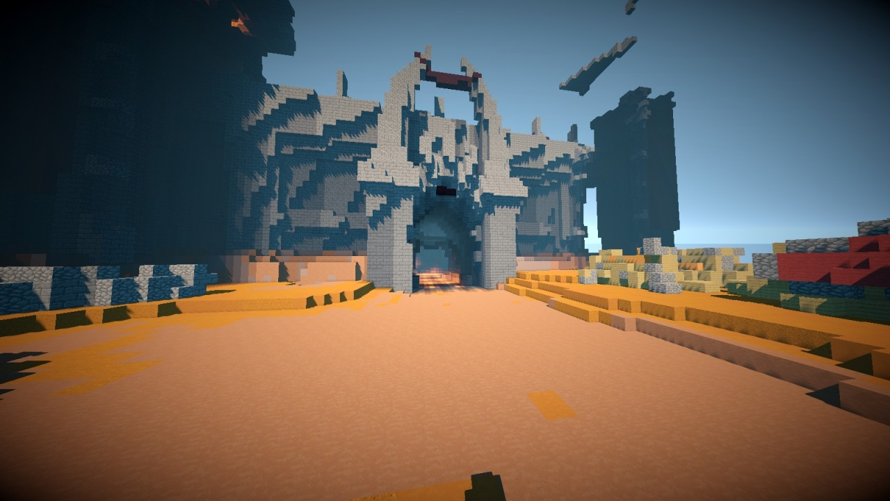 Crafting Azeroth Planet Minecraft