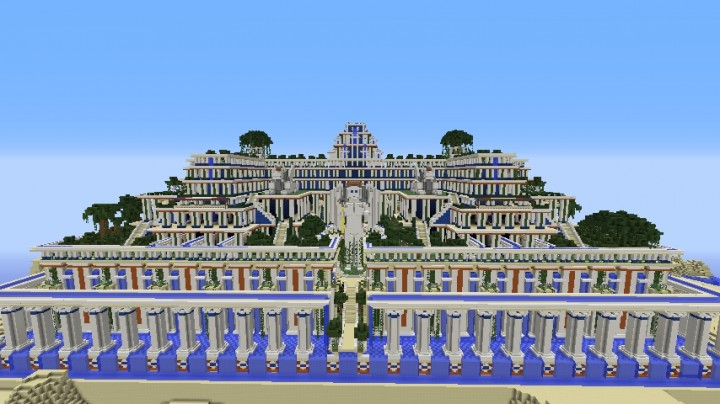 Hanging gardens of babylon minecraft project for Hanging gardens of babylon definition