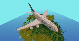 Airbus A380 By AwesomeJLK Minecraft Map & Project