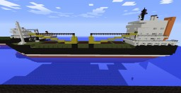 Improved version of SIR cargo ship [witch interior] Minecraft Map & Project