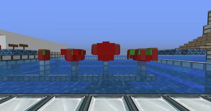 Red Bouncy Balls