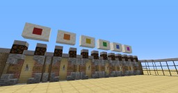 *-=-* The Colorful Beacon *-=-* Minecraft Map & Project