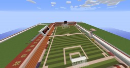 Football Stadium Minecraft Map & Project