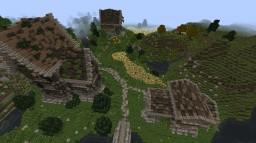Medieval/Nordic Farm Minecraft