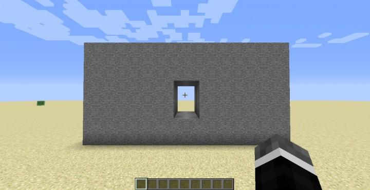 The Door while open