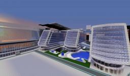 *Nexus HQ (SPACE CENTER)* Minecraft Map & Project