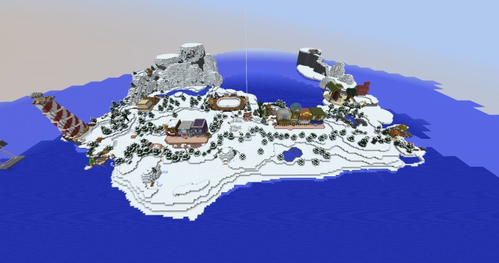 Club Penguin Island 2015 Map Download Minecraft Project