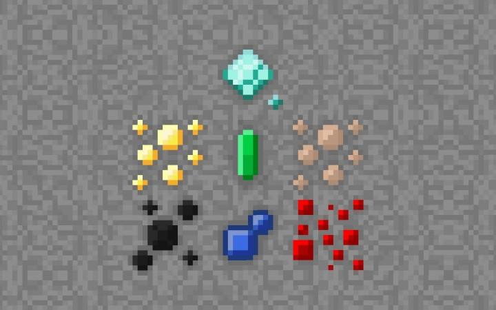 Overworld ores