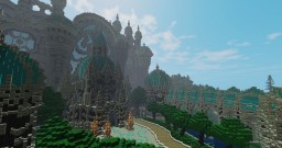 """[Imperial Castle] """"Vocant in nubibus"""" Castle in clouds Minecraft Map & Project"""