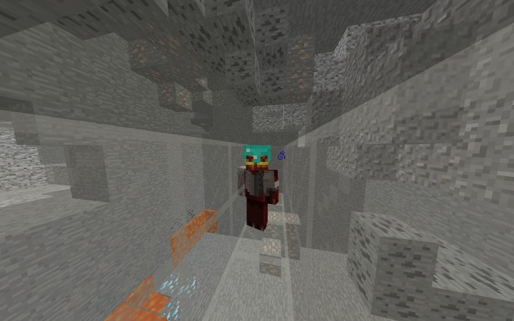 X Ray helmet Only One Command Minecraft Project