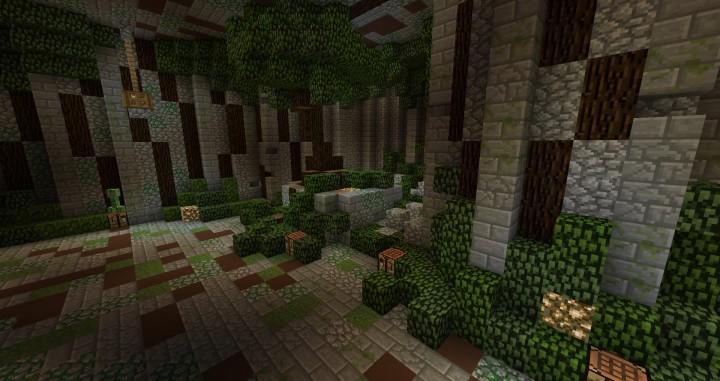Prison Mine Underground Mine Minecraft Map