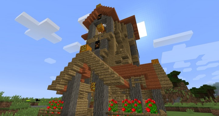 Halloween House Minecraft Map