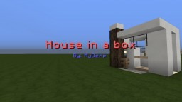 House in a box Minecraft Map & Project