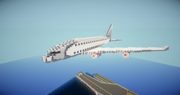 Airbus A380 (Double Deck Jet) 1:1 Minecraft Map & Project