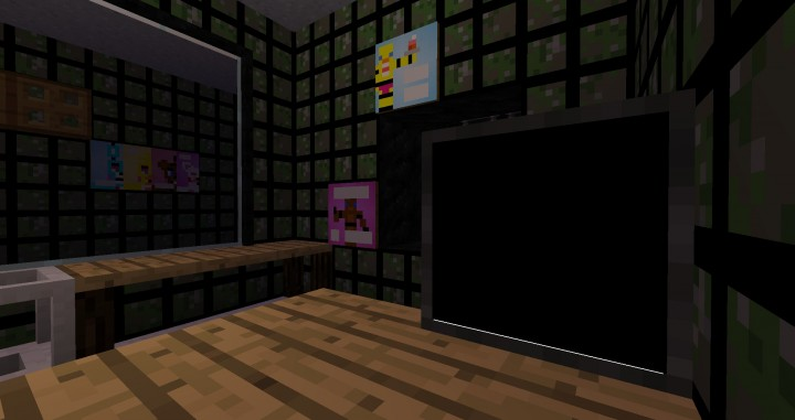 Fnaf 3 minecraft map minecraft project